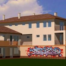 Egyre népszerűbbek az eleve graffitikkel épített házak
