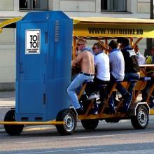 Toitoi bikeok váltják fel a beerbikeokat